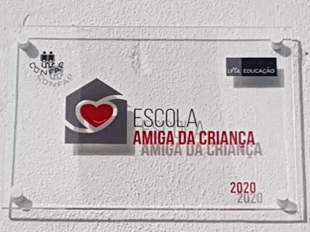 ESCOLA AMIGA DA CRIANÇA 2020