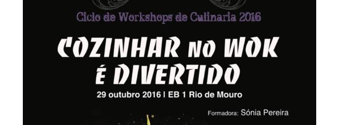 """Workshop """"Cozinhar no wok é divertido"""""""