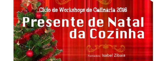 """Workshop """"Presente de Natal da cozinha"""""""