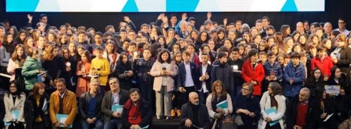 Cerimónia de reconhecimento por mérito educativo - Multiusos de Viseu - 11/01/2020