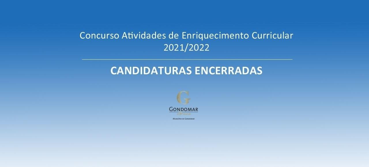 CANDIDATURAS ENCERRADAS