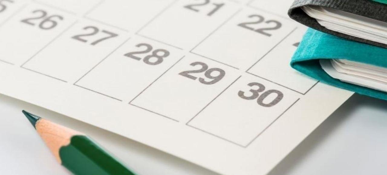 Calendário Escolar e de Provas e Exames