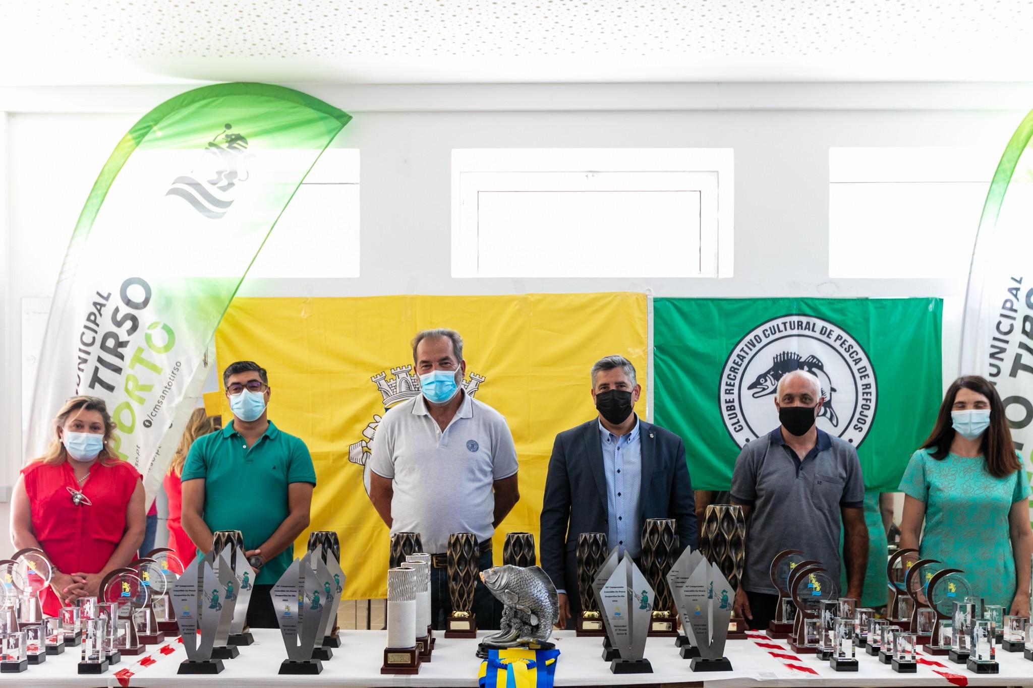 Vencedores do 30º Campeonato Concelhio de Pesca Desportiva de Rio receberam prémios