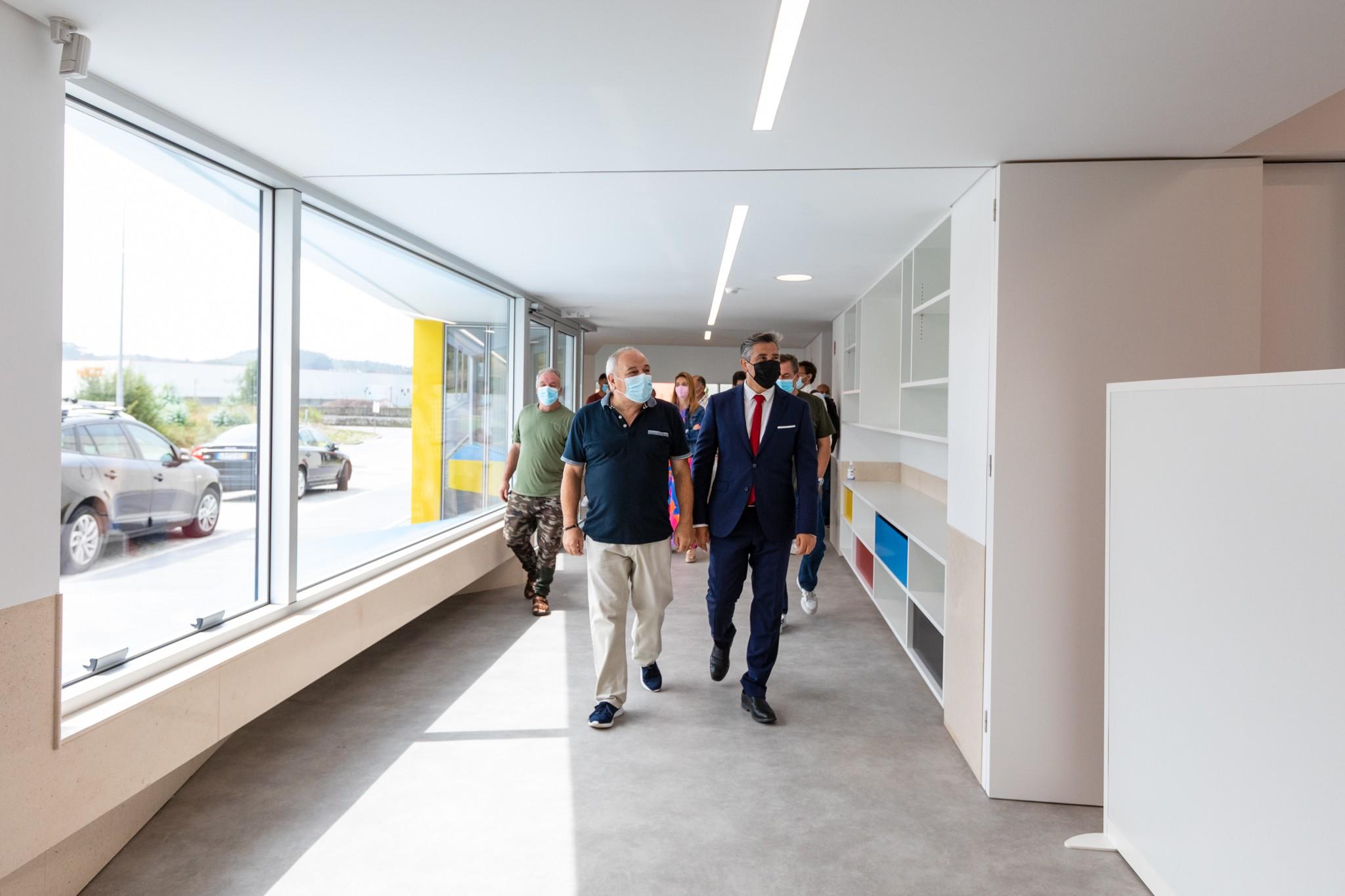 Presidente da Câmara visitou nova sede da junta de Água Longa