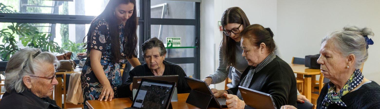 Mentoria para a inclusão digital