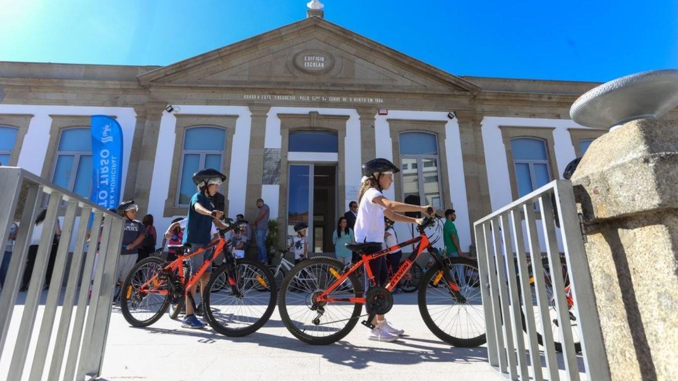 Ciclismo vai à Escola