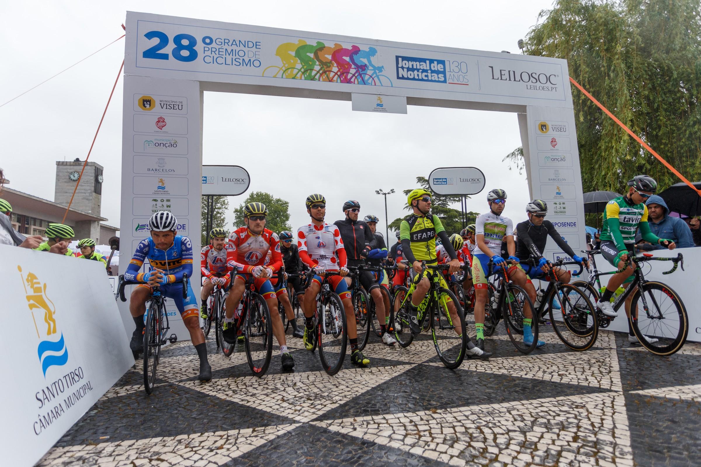 Estradas de Santo Tirso recebem Grande Prémio JN em ciclismo