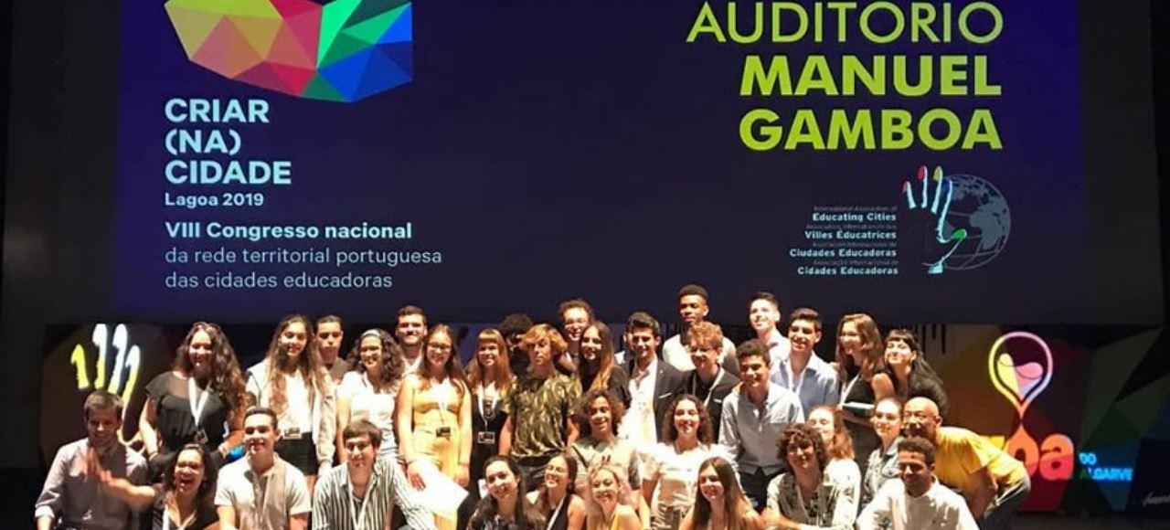 Dois jovens feirenses participaram no 8.º Congresso Nacional das Cidades Educadoras