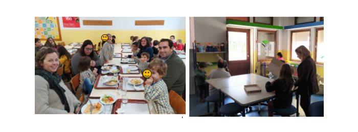 Família no refeitório por um dia – março de 2020
