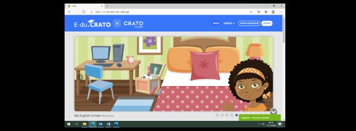 O Município assegura acesso às Plataformas E-du.Crato e Escola Virtual para mais um ano letivo