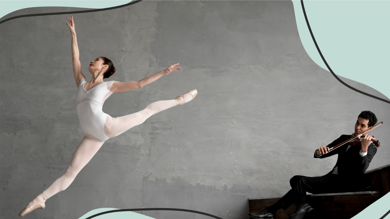 Bolsas de Estudo para aulas de Dança e Música