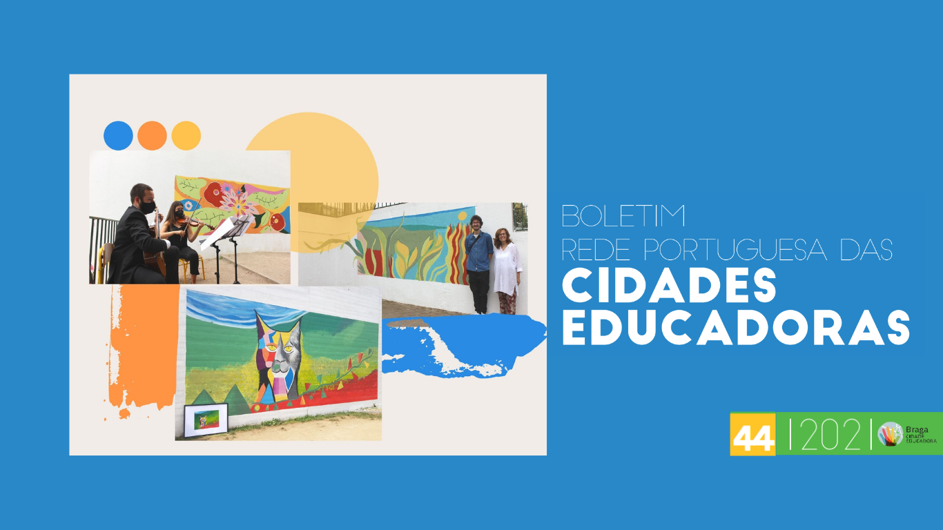 Publicação do Boletim 44 da Rede Cidades Educadoras