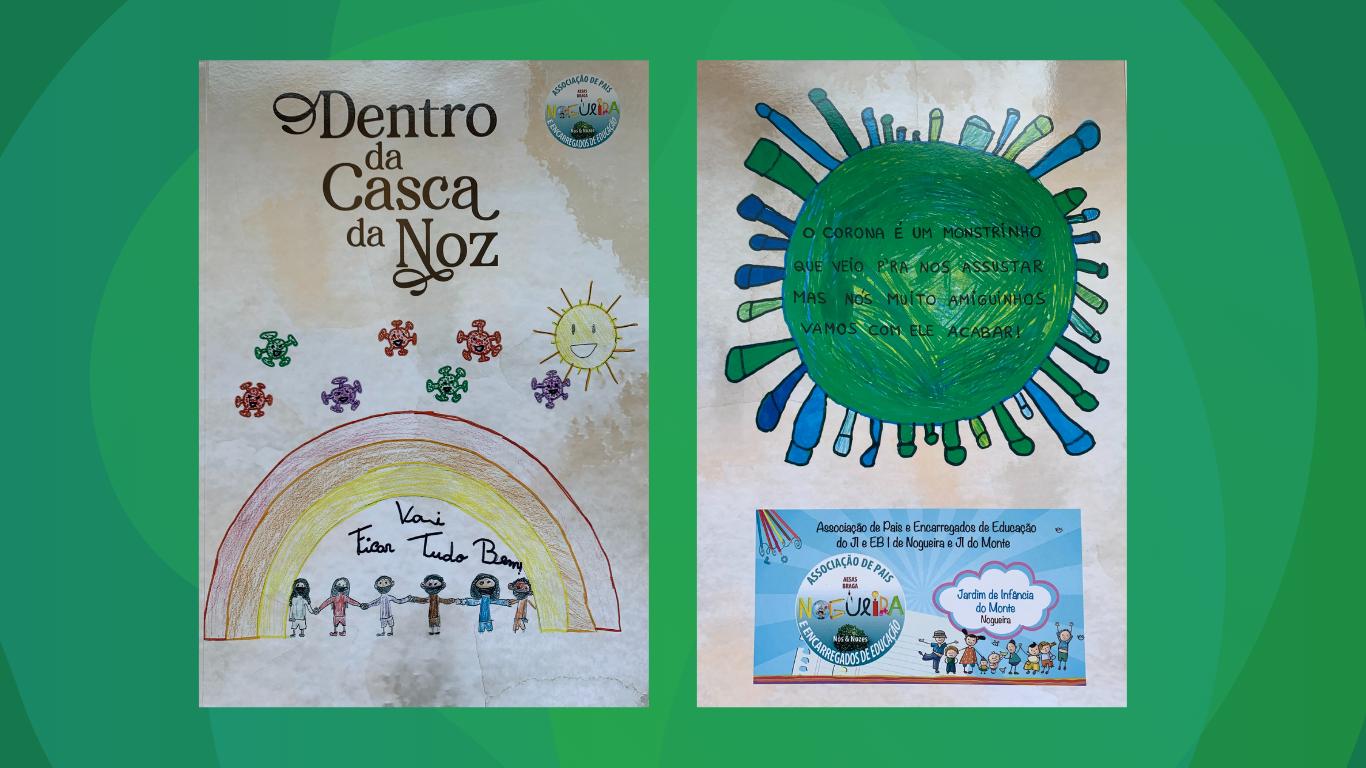 """Apresentação do livro """"Dentro da Casca da Noz""""   EB n.º 1 Nogueira"""